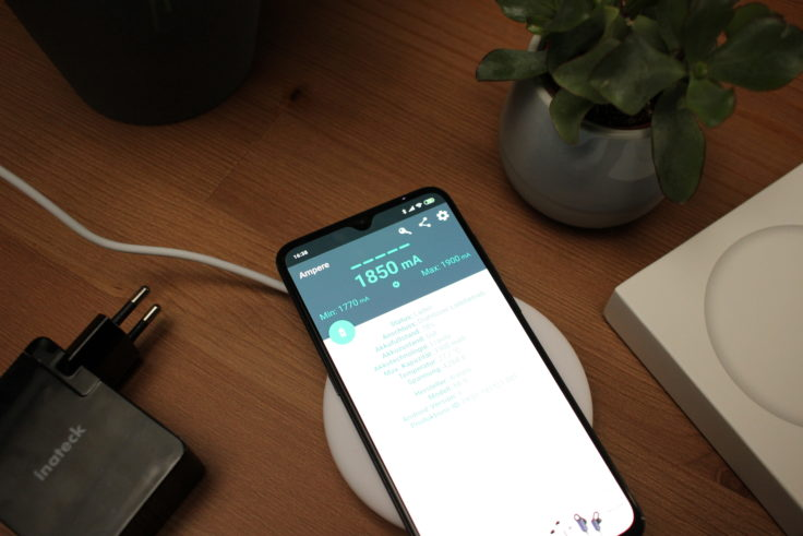 Xiaomi Qi-Ladegerät Ampere