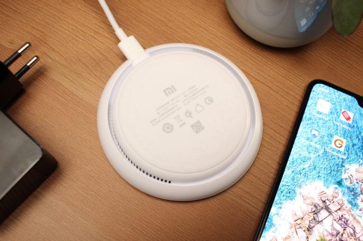 Xiaomi Qi-Ladegerät Unterseite
