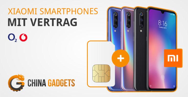 Xiaomi Smartphones im Vertrag