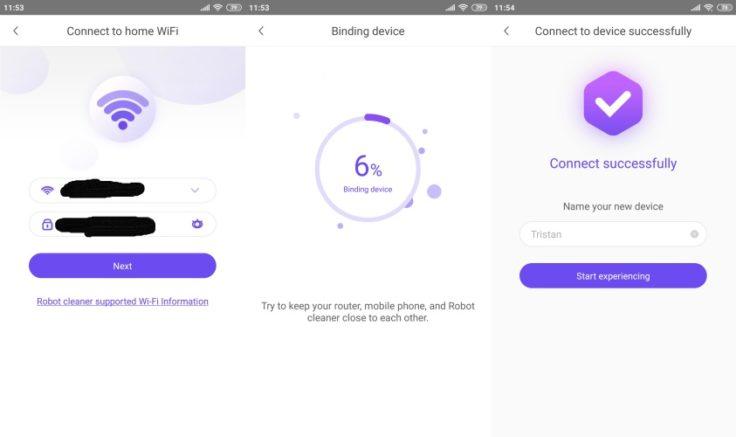 360 S5 Saugroboter App WLAN-Verbindung Qihoo