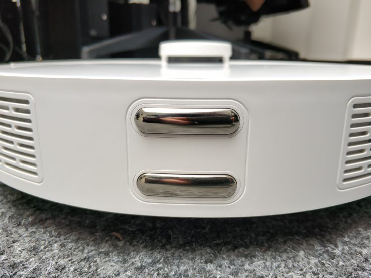 360 S5 Saugroboter Rückseite Sensoren