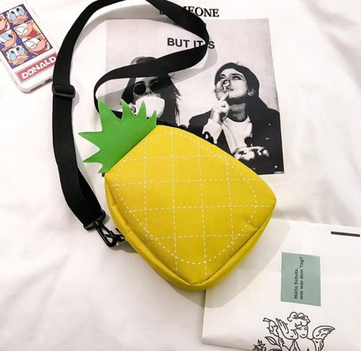 Ananas-Handtasche