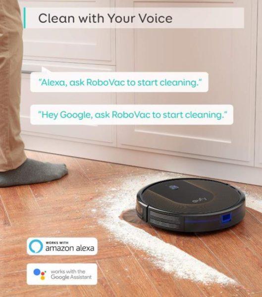 Anker eufy RoboVac 30C Saugroboter Werbung Alexa-Steuerung