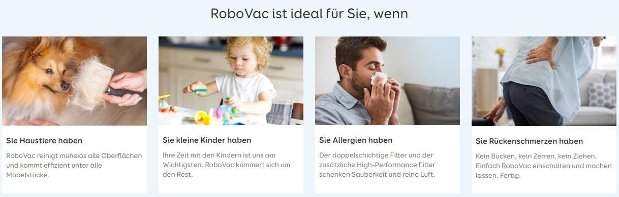 Anker eufy RoboVac 30C Saugroboter Werbung
