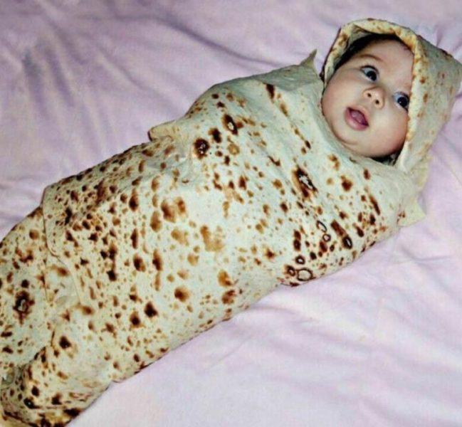 Burrito-Decke Baby