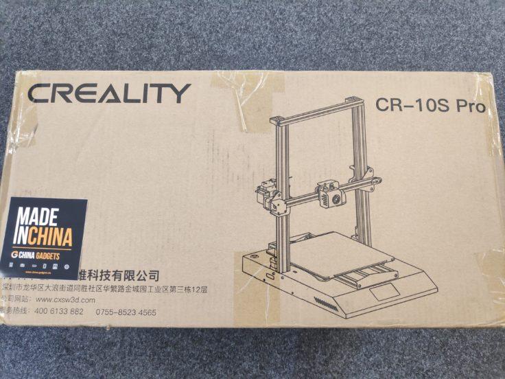 CR-10S Pro: Verpackung - Jetzt wurde es spannend!