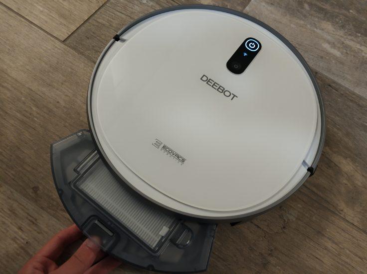 Ecovacs Deebot 710 Saugroboter Staubkammer rausnehmen