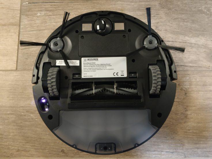 Ecovacs Deebot 710 Saugroboter Unterseite