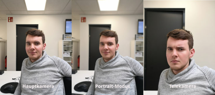 Huawei Nova 4 Hauptkamera Portrait Tele Vergleich