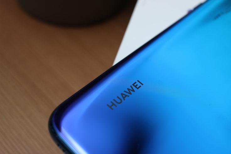 Huawei Nova 4 Huawei Logo