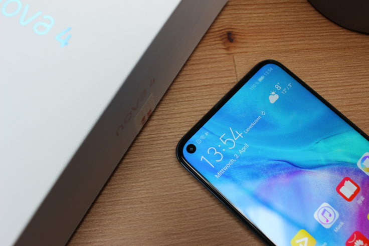 Huawei Nova 4 In-Display Kamera