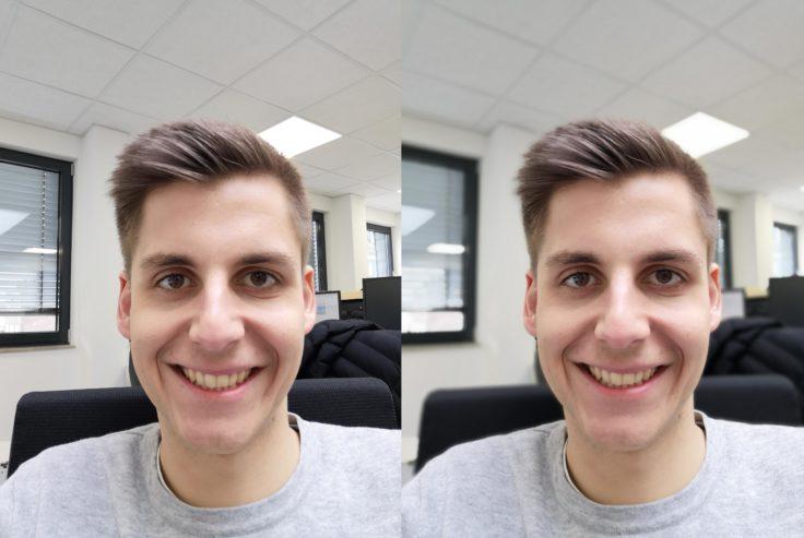 Huawei Nova 4 Testfoto Frontkamera Portrait Vergleich