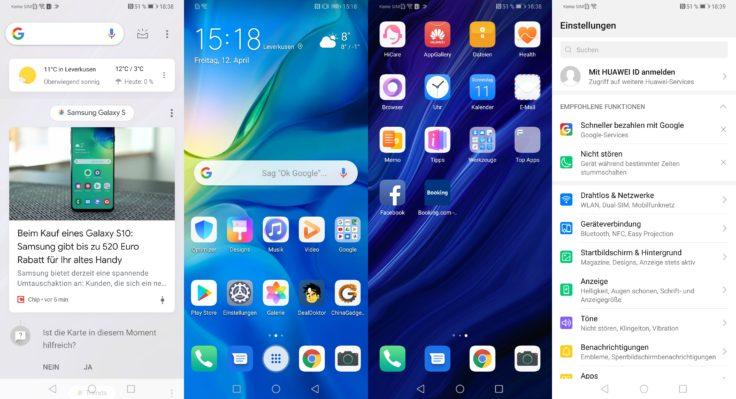 Huawei P30 Pro EMUI Software