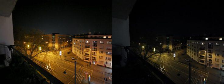 Huawei P30 Pro Nacht Ultraweitwinkel