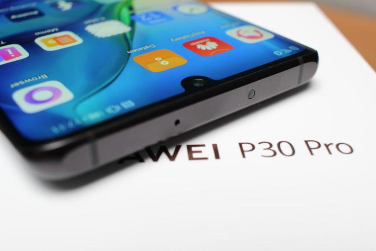 Huawei P30 Pro Oberseite