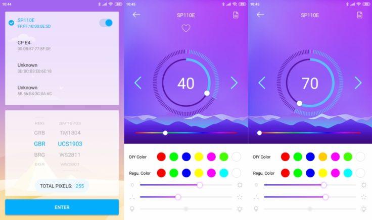 LED Hue App