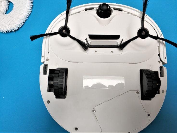 Narwal Robotics Saugroboter Unterseite Bürstenköpfe