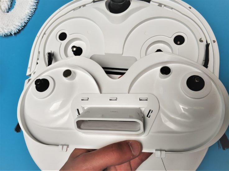 Narwal Robotics Saugroboter Unterseite Vorbereitung