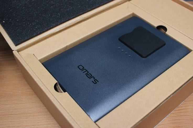 OMARS 40200 Powerbank Verpackung (2)