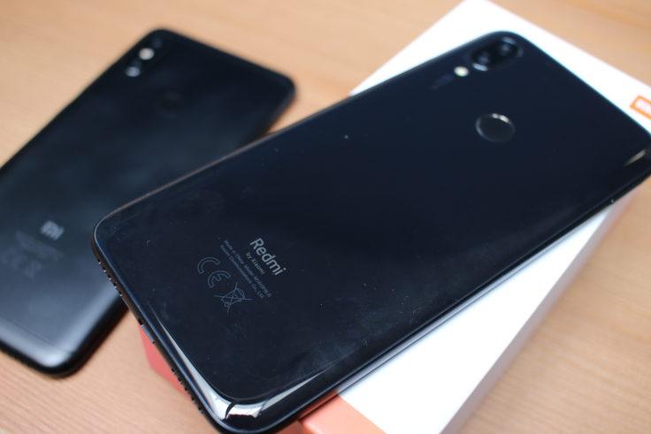Redmi 7 Rückseite Schwarz CE-Kennzeichen