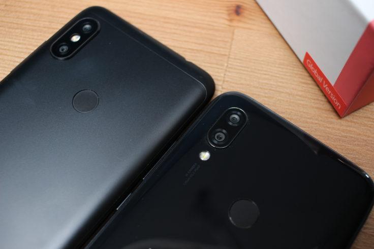 Redmi 7 Smartphone Rückseite Vergleich