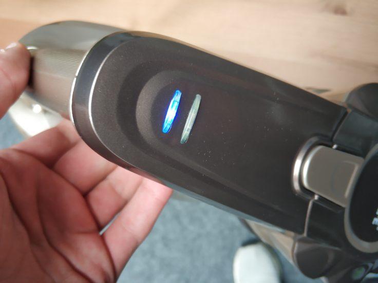 TINTONLIFE VC812 Akkustaubsauger LED Akku Leuchten