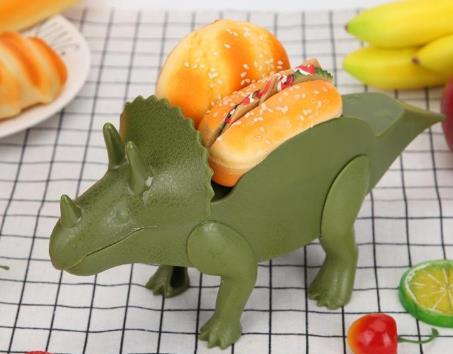 Taco-Halterungen Dinosaurier Hotdog