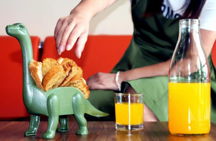 Taco-Halterungen Dinosaurier Tisch