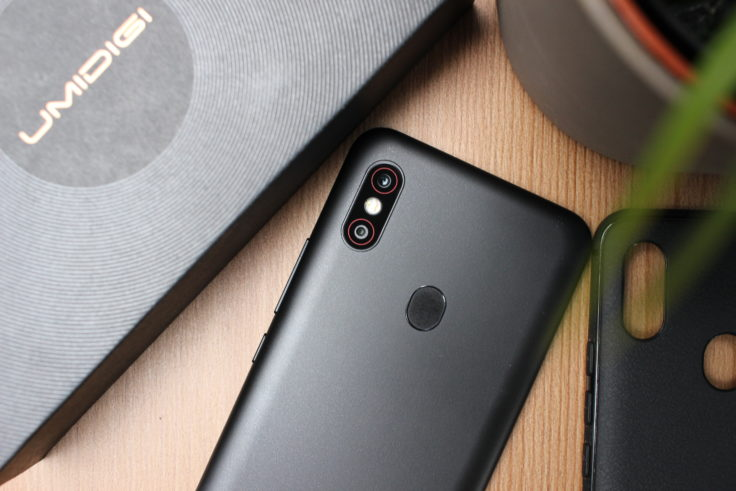 UMIDIGI F1 Smartphone Rückseite Schwarz