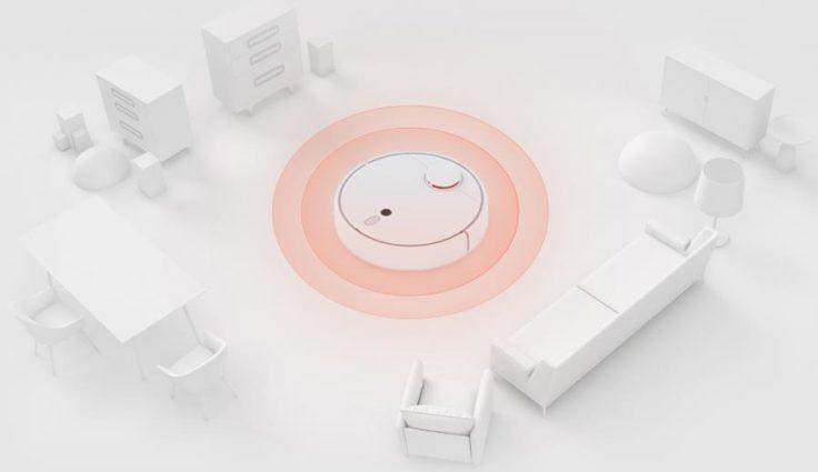 Xiaomi Mi Robot 1S Saugroboter SLAM Algorithmus