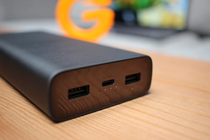 Xiaomi Powerbank 3 Anschlüsse