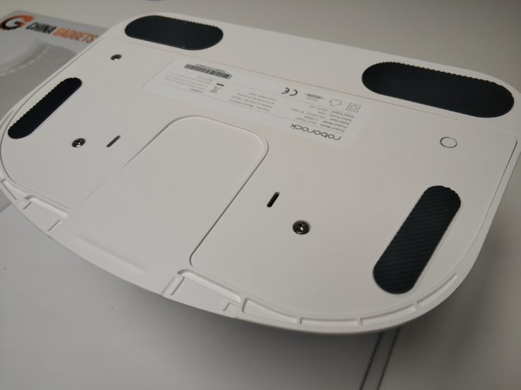 Xiaomi RoboRock S6 Saugroboter Ladestation Gummierungen Unterseite
