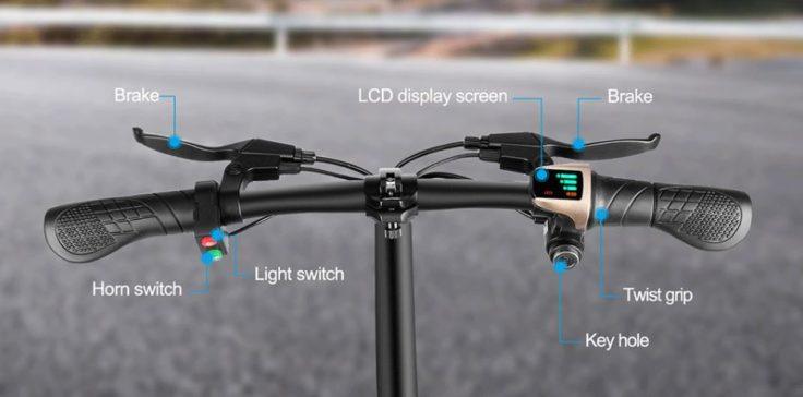 Ziyoujiguang T18 E-Bike Lenkstange