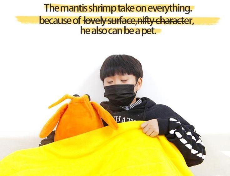 Mächtiger Shrimp Bett