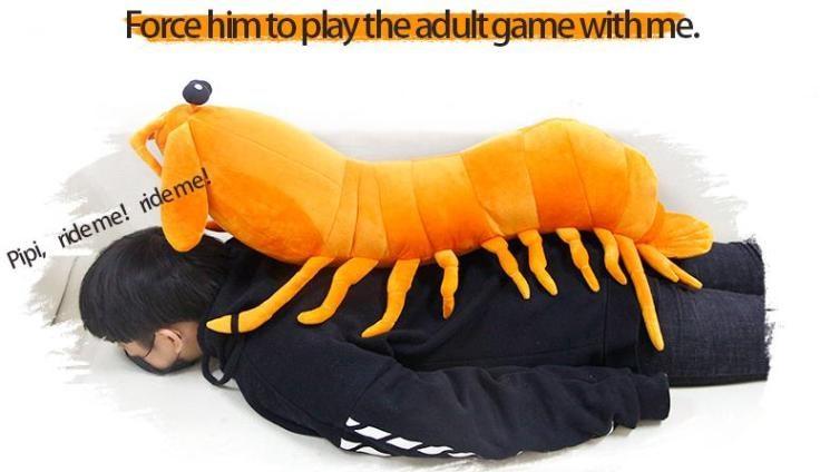 Mächtiger Shrimp Erwachsenenspiele