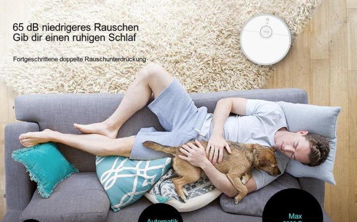 360 S5 Saugroboter Werbung gib dir ruhigen Schlaf