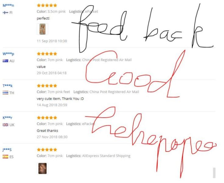 AliExpress Feedback