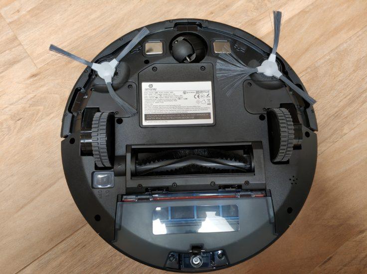 Amarey A900 Saugroboter Unterseite