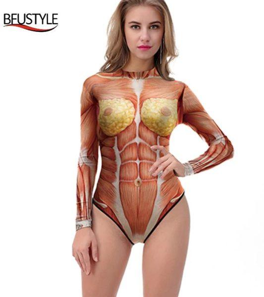 Anatomie Körper Badeanzug anderes Design