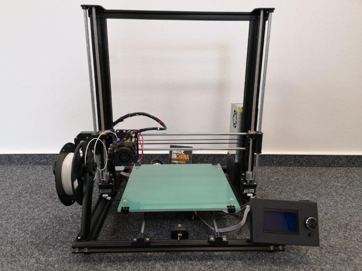Anet-A8-Plus-3D-Drucker-Aufgebaut