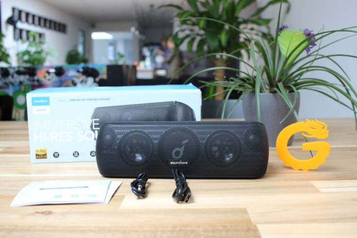 Anker Soundcore Motion+ Lieferumfang