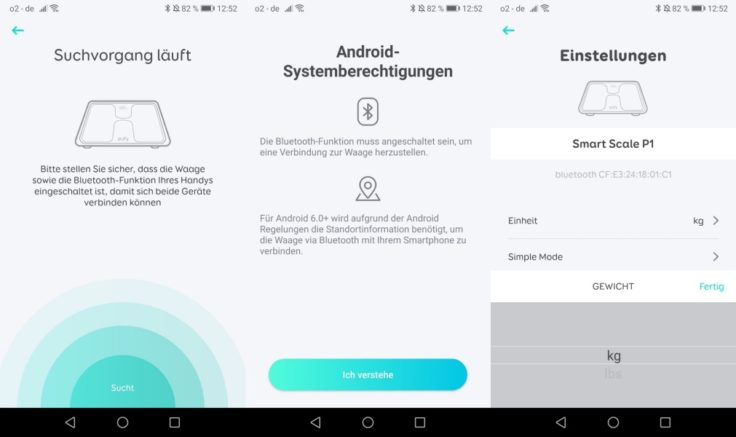 Anker eufy Smart Scale P1 Personenwaage App Bluetooth-Verbindung
