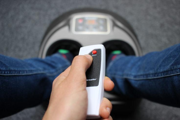 Arealer Fußmassagegerät Bedienung