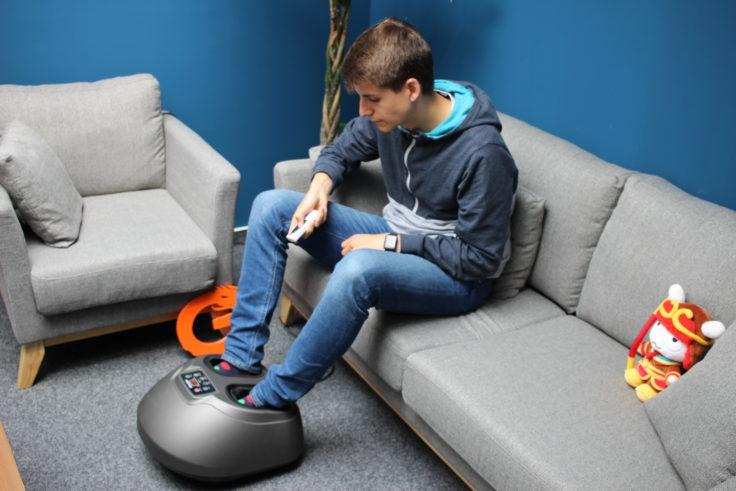 Arealer Fußmassagegerät Wohnzimmer