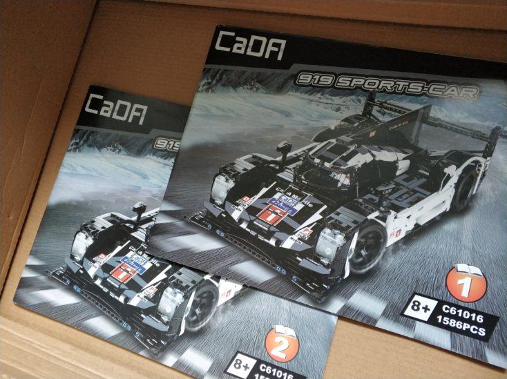 CaDA 919 Sports Car Anleitung (2)
