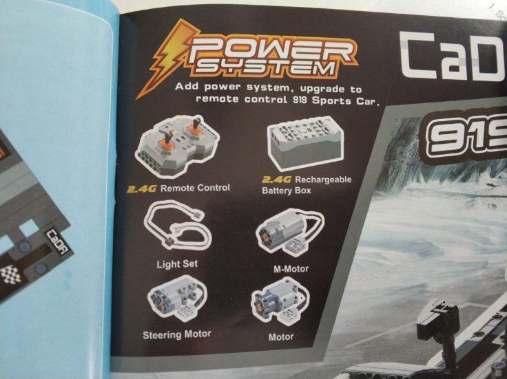 CaDA Sports Car Elektromotor