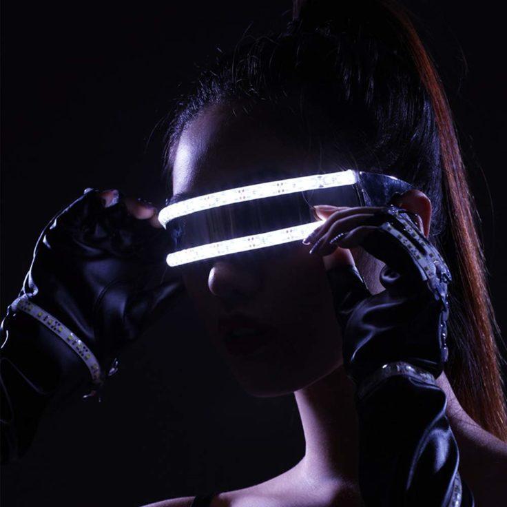 Festival LED Brille