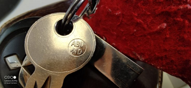 Lenovo Z6 Pro Testfoto Makroaufnahme Schlüssel