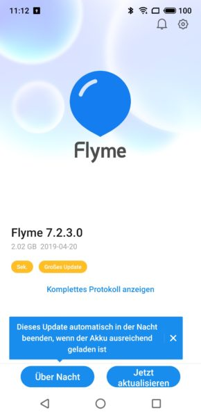 Meizu 16S Screenshot Flyme