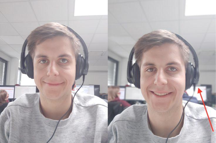 Meizu 16S Testfoto Frontkamera Portrait Vergleich
